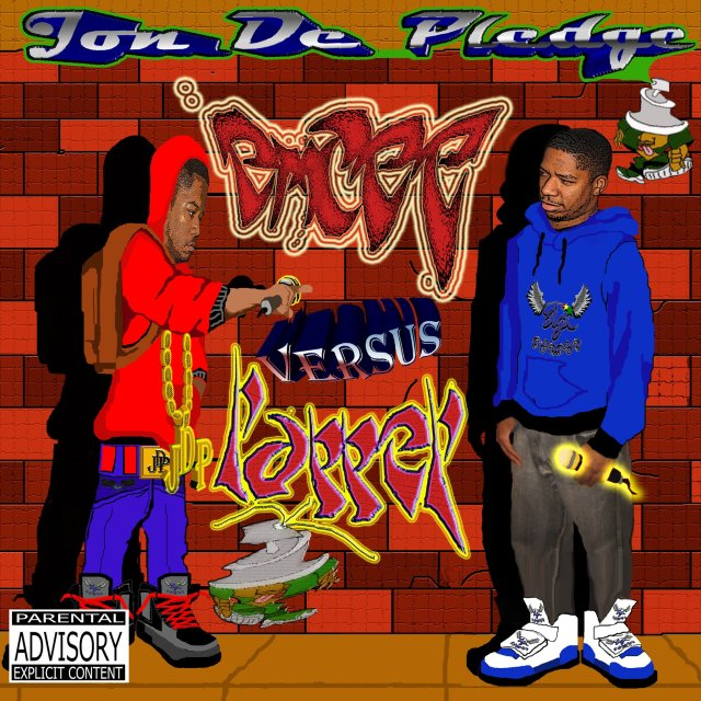 JON DE PLEDGE - Emcee Vs Rapper