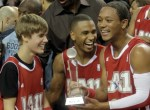 Justin Beiber, Trey Songz, Romeo All Star Game
