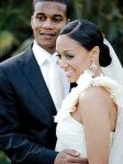 Tia Mowry & Cory Hardrict Wedding Photo