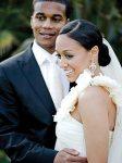 Tia Mowry & Cory Hardrict Wedding Photo