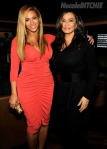 Beyonce & Tina At Shawn Carter Benefit