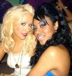 Christina Aguilera & Sasha Allen