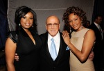 Jennifer Hudson, Clive Davis, Whitney Houston
