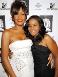Whitney Houston & Bobbi Brown