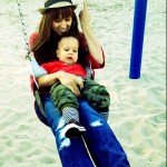 Tia & Cree Taylor Swinging