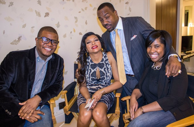 """AWP EXCLUSIVE: On set of Lee Daniels """"Empire"""" Pilot"""