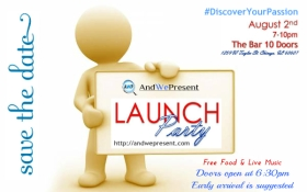 Save The Date Launch Event