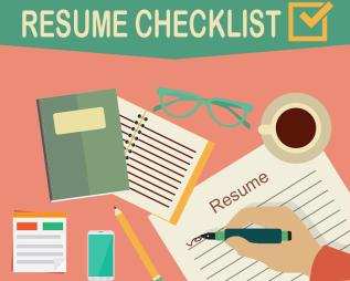 Resume Writing Checklist for BrainyJobseekers